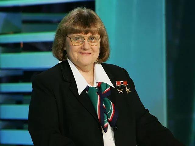 Светлана Евгеньевна Савицкая Дважды Герой Советского Союза