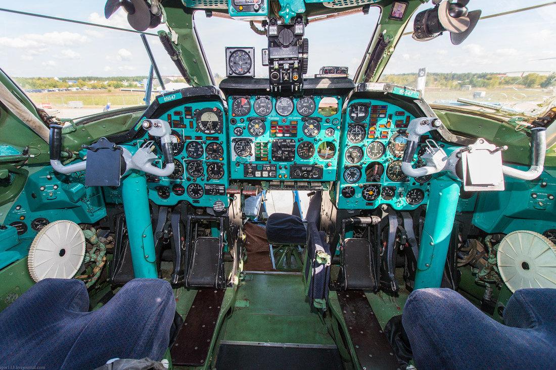 Ту-22М3 Кабина пилотов