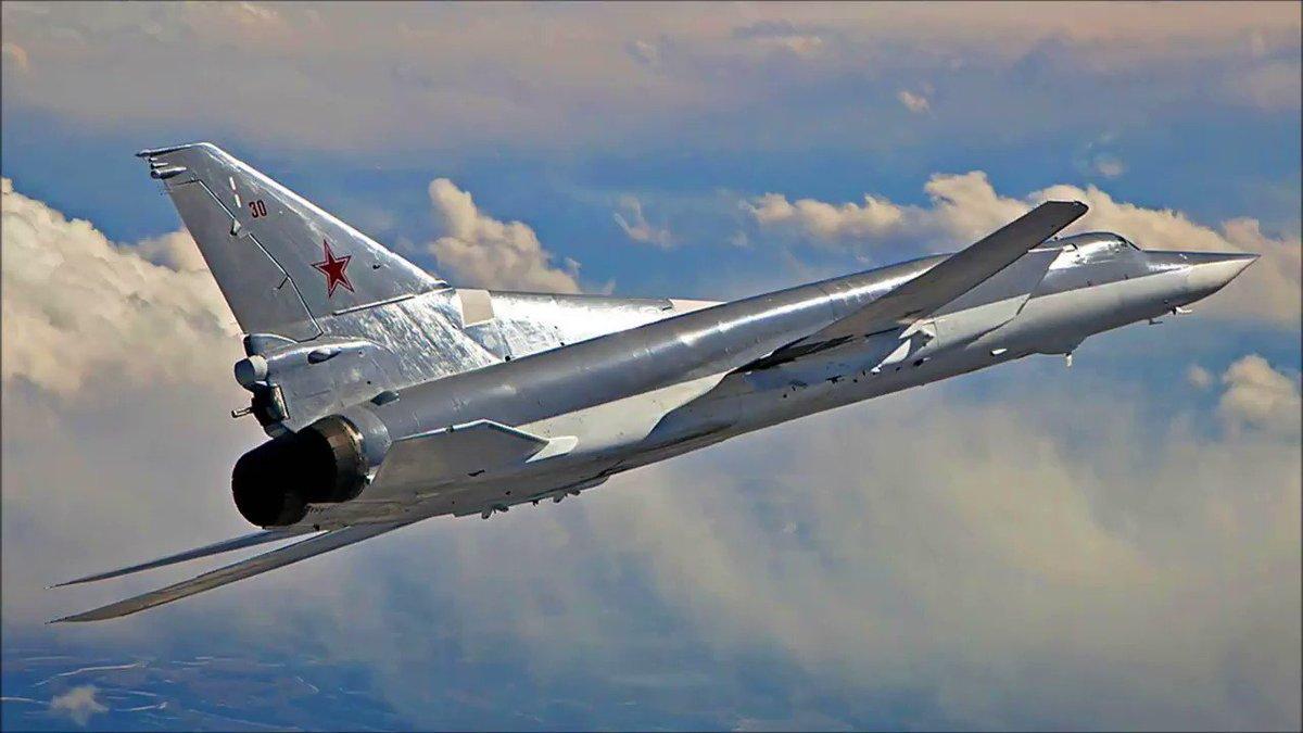 Ту-22М3 в полёте на крейсерском режиме