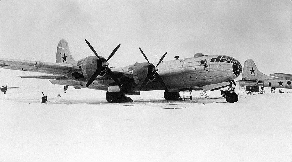 Ту-4 на Крайнем Севере